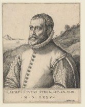 Carolus Clusius by Martin Rota 1575. Source: Leiden University Library
