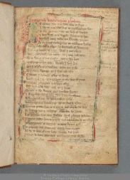 TCD MS 212 'Here begins the dream of William [Langland] about Piers Ploughman'. So starts one of the great medieval English poems, a sprawling account of a dream the poet had while napping on the Malvern Hills in Worcestershire.