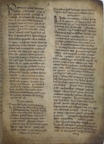 TCD MS 52 The Sayings of St Patrick from the Book of Armagh, a unique collection of biographical information about Ireland's patron saint.