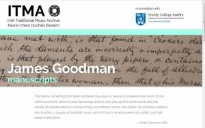 Dedicated Goodman homepage on the Irish Traditional Music Archive