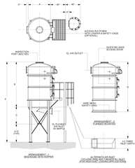 Vacuum Receivers For Dilute Phase Pneumatic Conveying