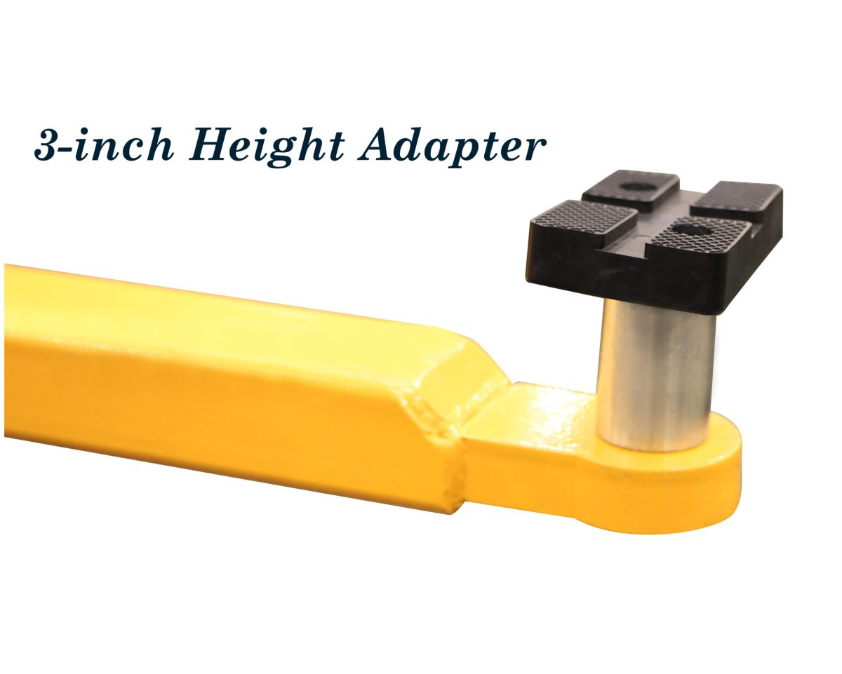 3 inch height adapter