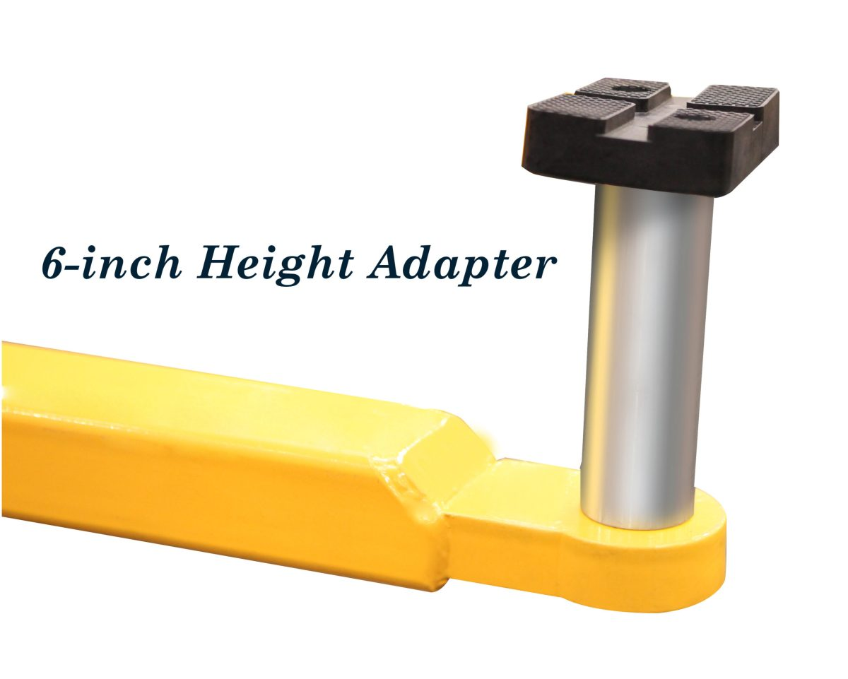 6 inch height adapter