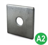 M12x50 A2 Stainless Square Plate Washer