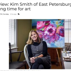 LNP interviews our visual wizard Kim Smith