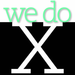 we do x graphic