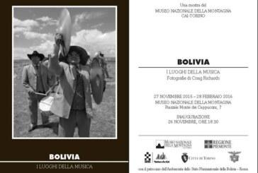 TORINO: MOSTRA FOTOGRAFICA BOLIVIA I LUOGHI DELLA MUSICA