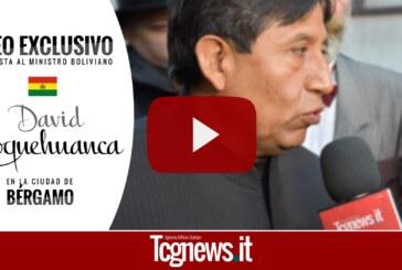 ENTREVISTA EXCLUSIVA | Ministro David Choquehuanca en Bérgamo