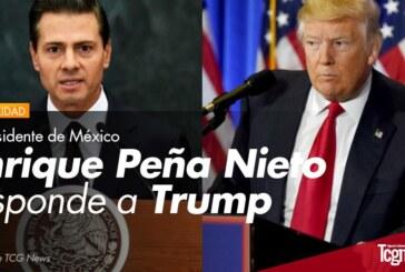 VIDEO: El Presidente de México Enrique Peña Nieto responde a Trump