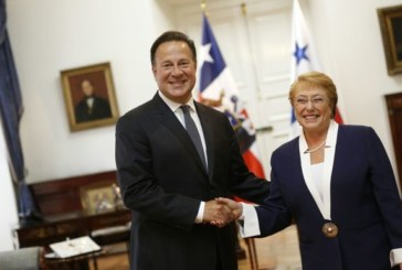 Varela dice en Chile que ve con optimismo la adhesión de Panamá a la Alianza del Pacífico
