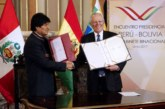 Perú se compromete a impulsar el comercio de Bolivia a través del puerto de Ilo
