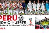Italia: peruanos se preparan para alentar a la blanquirroja