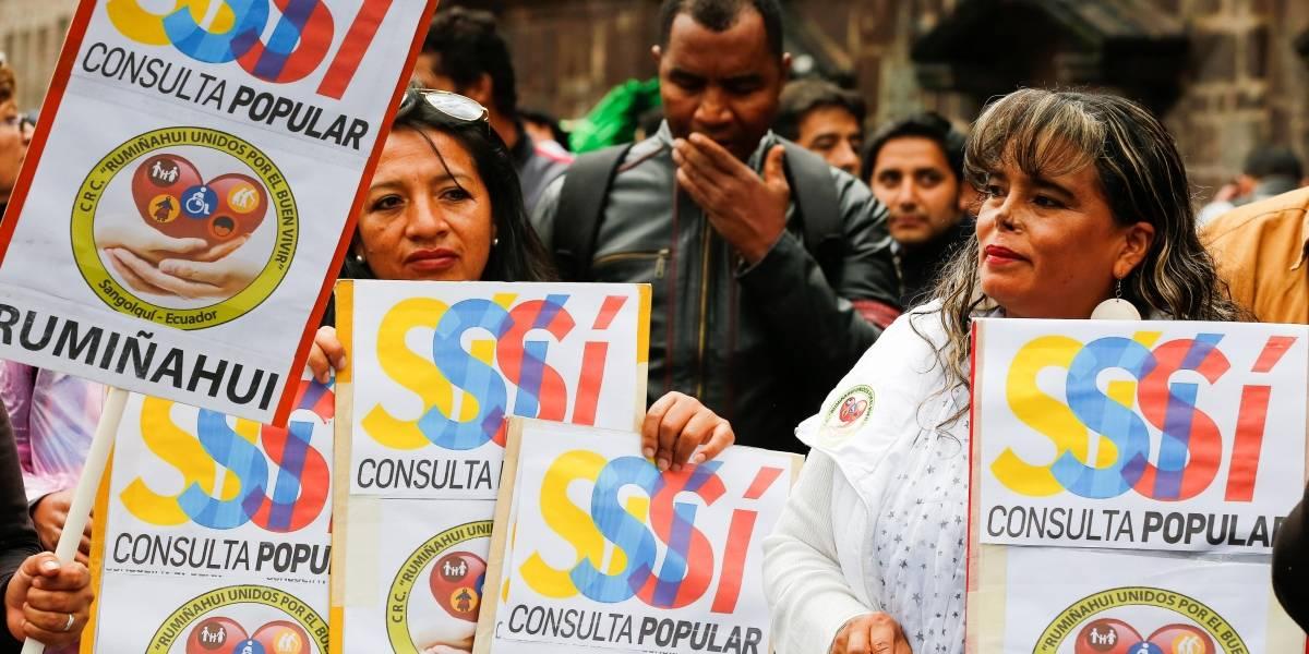 Inicia la campaña para la consulta popular del 4 de febrero en Ecuador