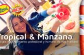TROPICAL Y MANZANA testigos del crecimiento profesional y humano de Ana Mancero