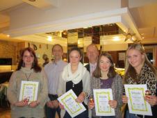 Juniorinnen Gruppensieger Bezirksklasse 1 Oberbayern 2013