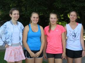 Juniorinnen I TC Topspin Grafing Ebersberg 2015