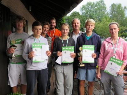 Sieger Junioren/Damen/Herren Landkreismeisterschaft Ebersberg 2016