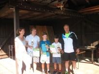 Sieger U14 männlich Landkreismeisterschaft Ebersberg 2016