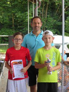 Sieger Bambini U12 Clubmeisterschaft TC Topspin Grafing Ebersberg 2017