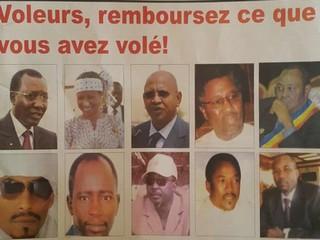 La presse N'Djaménoise a trouvé les vrais coupables de la crise économique et financière au Tchad: «Voleurs, remboursez ce que vous avez volé !»