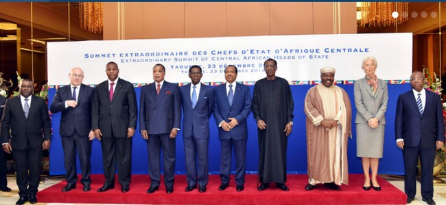 Sommet de la CEMAC le 24 mars à N'Djaména