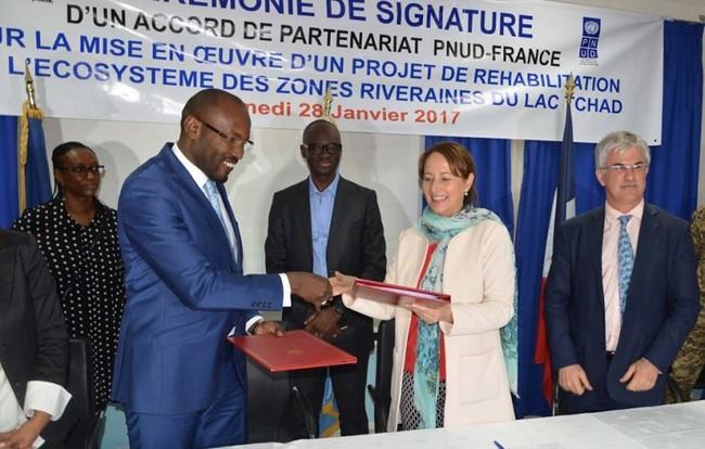 La France annonce une aide d'un million d'euros pour la restauration et la réhabilitation de l'écosystème du Lac-Tchad