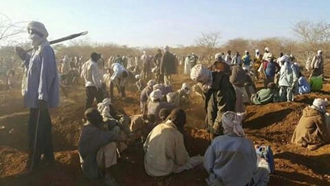 Quand les Tchadiens découvrent que le régime du Président Idriss Déby exploite clandestinement l'or du Batha