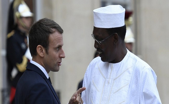 Tchad: arrivée du Président Idriss Déby à Paris pour participer au sommet sur le climat ce mardi et assister le lendemain à la réunion du G5 Sahel
