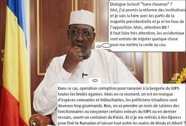 Après le FONAC, la CPDC dit non à son tour à la pérennisation de la dictature au Tchad: Idriss Déby est maintenant seul face à sa réforme constitutionnelle