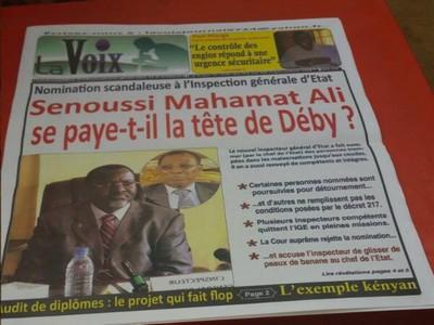 Au Tchad, l'ancien inspecteur général d'État Senoussi Mahamat Ali en garde à vue pour détournements: soumission pour rester à la mangeoire ou punition pour pouvoir y revenir avec une promotion ?