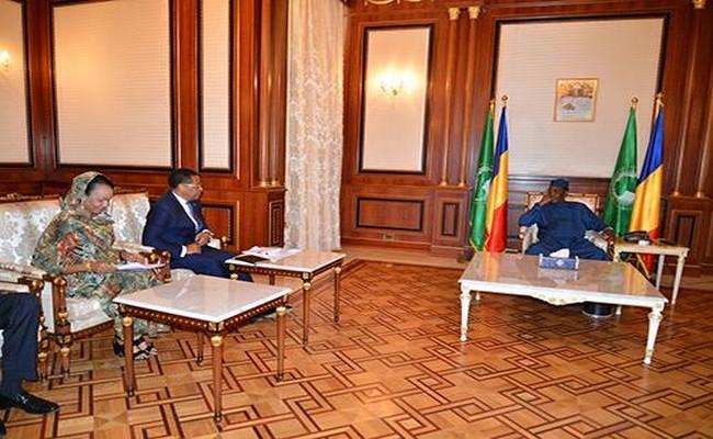 Tchad: une délégation de la CEMAC reçue par le Président Idriss Déby