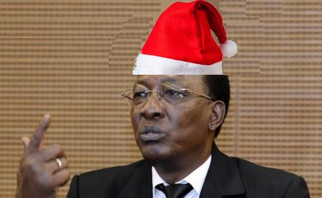 Tchad: le cadeau empoisonné aux fonctionnaires du Père Noël Idriss Déby Itno