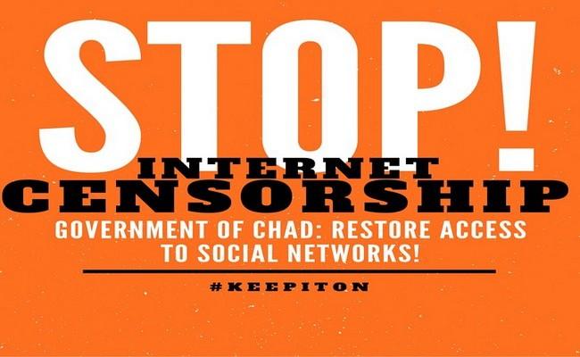 Depuis mars 2018, les internautes subissent la censure d'internet et des réseaux sociaux au Tchad