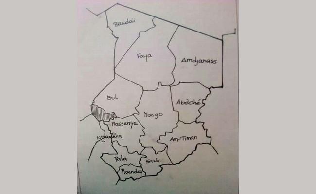 Le nouveau découpage administratif a été adopté par le gouvernement: le Tchad compte désormais 17 provinces dont l'Ennedi qui aura pour capitale Am-Djarass