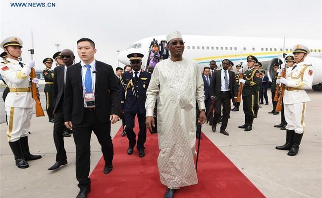 Tchad: le Président Idriss Déby à Beijing pour prendre part au sommet du Forum  sur la coopération Chine-Afrique
