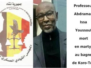 Encore un professeur mort en détention au Tchad