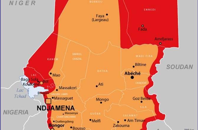 Les voyages au Tchad sont «déconseillés sauf raison impérative»