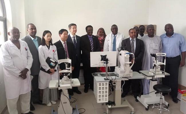 Lancement d'une caravane ophtalmologique chinoise à l'hôpital de l'Amitié Tchad-Chine