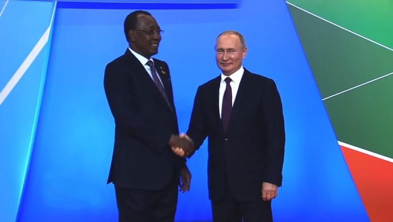 Tchad: à Sotchi, le Président Idriss Déby sollicite le soutien de la Russie pour renforcer la stabilité du Sahel
