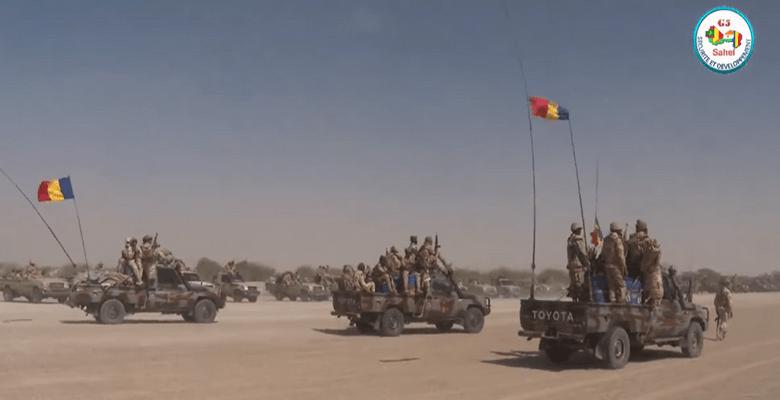 Le contingent de soldats tchadiens va quitter Niamey pour Téra dans la zone dite des «trois frontières» entre le Niger, le Mali et le Burkina Faso