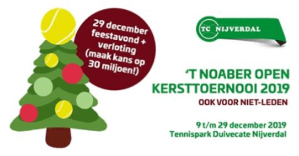 Noaber Open Kersttoernooi 2019