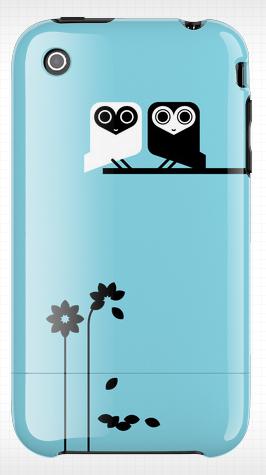 Hybrid Design owl iphone case