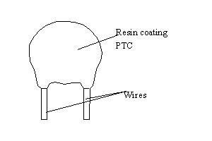 Resin Coating Type Shell Type PTC Heater Used for Circuit