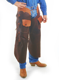 TCI  Garment  Textile  Leather Goods  Batwing Chaps