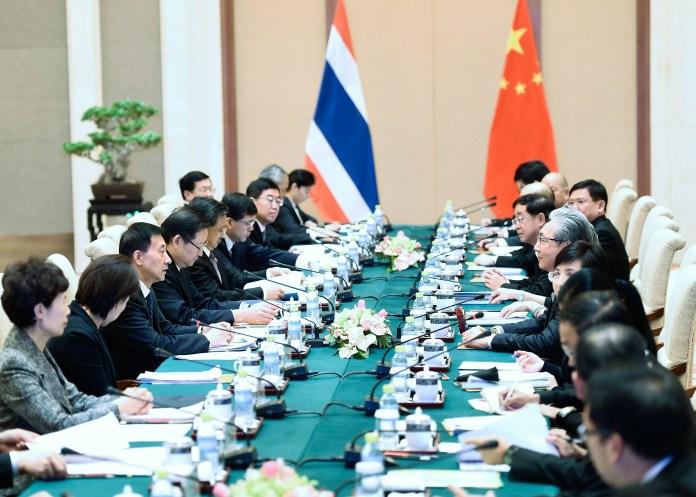 ตั้งเป้าการค้าไทย-จีน 4.2 ล้านล้าน ใน 5 ปี พร้อมเดินหน้ารถไฟกรุงเทพฯ-หนองคาย