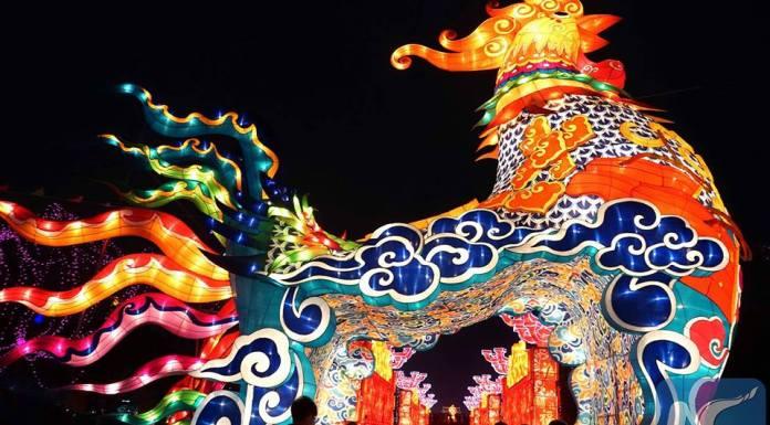 อลังการงานสร้าง! เทศกาลโคมไฟรับปีระกาในไคเฟิง