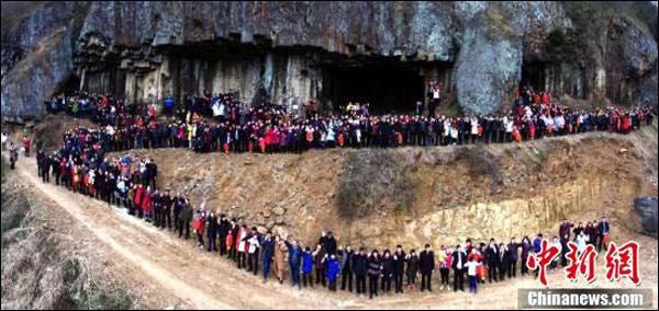สมาชิกตระกูลจีน 500 คนคืนถิ่นเดิม