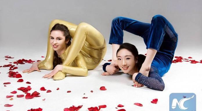นักกีฬาจีน-ยูเครนโชว์ภาพสุดยอดตัวอ่อน