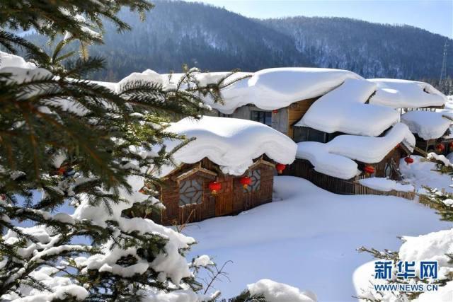 """สัมผัสหิมะได้นานสุดๆ ใน """"เมืองหิมะแห่งประเทศจีน"""""""