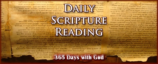 Daily Bible Reading August 2017